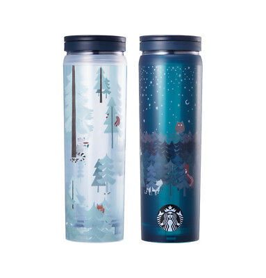 Starbucks Korea 2017 Autumn Limited Autumn woodland case tumbler set 473ml