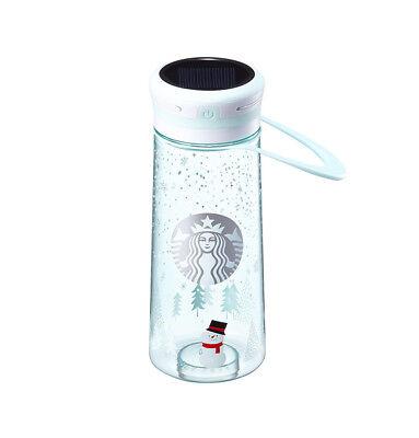 Starbucks Korea2017 Christmas Limited Mint LED Lantern Waterbottle tumbler 600ml
