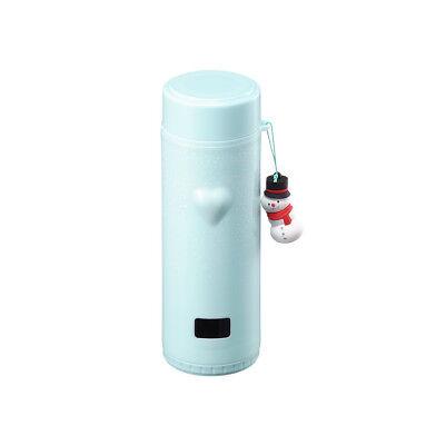 Starbucks Korea 2017 Christmas Limited SS Snowman Thermometer Mint Tumbler 360ml