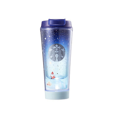 Starbucks Korea 2017 Christmas Limited Edition Holiday Friends LED Tumbler