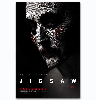 0472D Hot New Jigsaw Halloween 2017 Horror Movie Film-Print Art Silk Poster - Horror Films 2017 Halloween