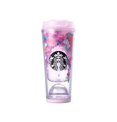 Starbucks Korea 2018 Spring Limited Edition Flower Waterball Tumbler 355ml