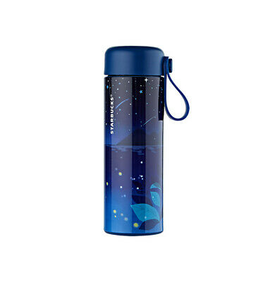 Starbucks Korea 2019 Summer Limited Summer Night Firefly Glass Tea Bottle 300ml