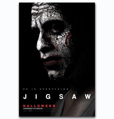 0471D Hot New Jigsaw Halloween 2017 Horror Movie Film-Print Art Silk Poster - Horror Films 2017 Halloween