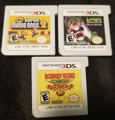 Super Mario X (New Super Mario Bros. 2 & x2 More Games for Nintendo 3DS / 2DS *Game Carts)