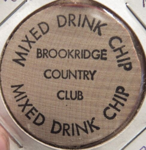 Brookridge Country Club Overland Park, KS Wooden Nickel - Token Kansas #2
