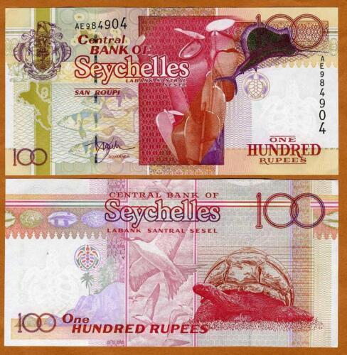 Seychelles, 100 rupees, ND (2001), Gold Foil, P-40, UNC