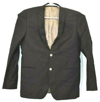 Daniele Alessandrini Men's 34R Suit Jacket Blazer 2 Button Front