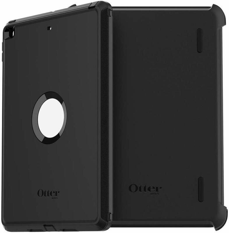 OtterBox DEFENDER SERIES Case & Stand for iPad 8th Gen / 7th Gen - Black