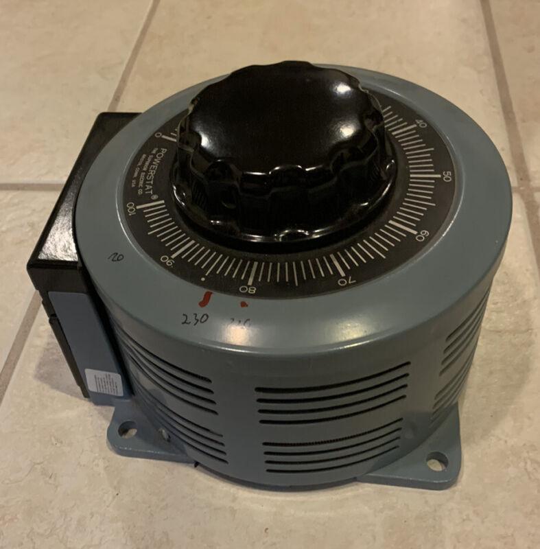 Powerstat 236B Variac Variable Transformer 0-280v