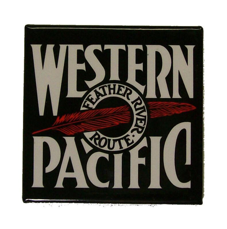 Western Pacific Railway Railroad Magnet #58-1510B