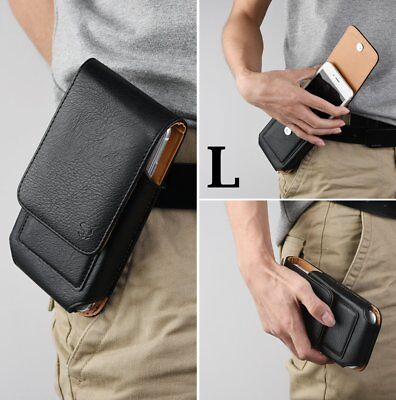 Iphone Black Vertical Pouch (for iPhone XR 6.1
