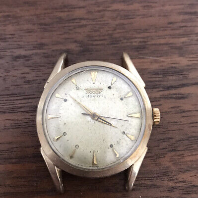 1950s Vintage Tissot Bumper Automatic Mens Watch