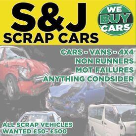 S + J scrap cars