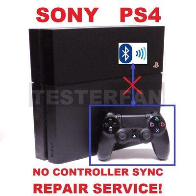 Fix Broken Sony PS4 System No Controller Sync/SU-41283-8 Error Repair Service!