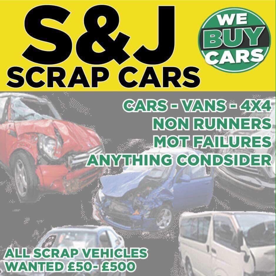 S + J Scrap car buyers