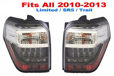 TOYOTA 4RUNNER 2011 2012 2013 LED TAILLIGHTS REAR NEW PAIR   Fit ALL Models