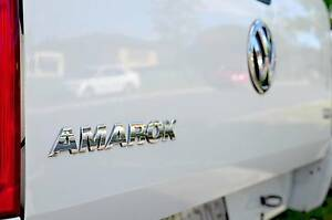 2012 Volkswagen TDI Amarok Dual Cab. One owner logs books low kms Springwood Logan Area Preview