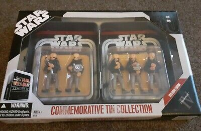 Rare Star Wars 30th Anniversary Figrin D'an And The Modal Nodes Cantina Band...