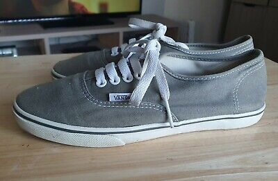 LADIES MENS VANS ATWOOD CANVAS TRAINERS PUMPS SIZE 5
