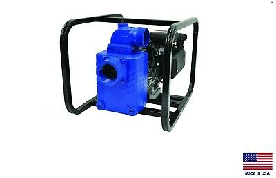 Water Pump Commercial - Portable - 3 Ports - 7 Hp Diesel - 21360 Gph - 48 Psi