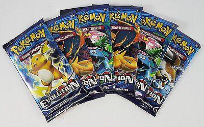 Pokemon Booster XY-Evolution OVP Deutsch