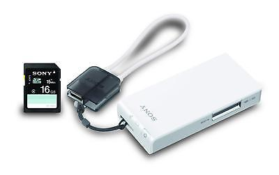 NEW Sony Wireless Server Portable Battery Power Pack 2200 mAh with 16gb SD card