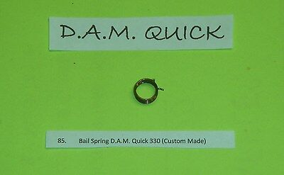 1 D.A.M. QUICK 330 REEL NEW 4 COIL CUSTOM MADE BAIL SPRING