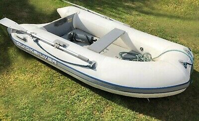 Quicksilver 2.7m Inflatable Boat with Air Deck ~ No patches or punctures!