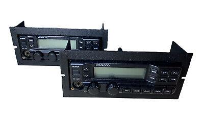 X2 Kenwood Tk-790 Tk790h Vhf Tk890h 45110w Control Head With Faceplate Kch-11