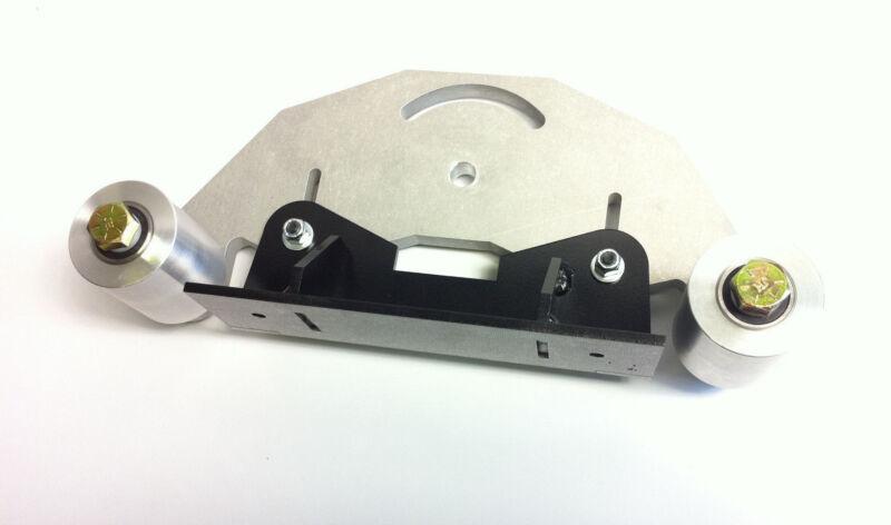 """Belt Grinder D-Backing plate for 2x72"""" knife making grinder with wheels"""