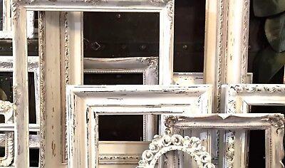 4 FRAMES SHABBY Wan FARMHOUSE COTTAGE BOHO CHIC ~PETITE SET~Open Gallery~