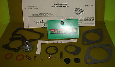 Carburetor Rebuild Kit Holley Model 1909 62-69 Ford Mercury 1 Barrel 144 177 200