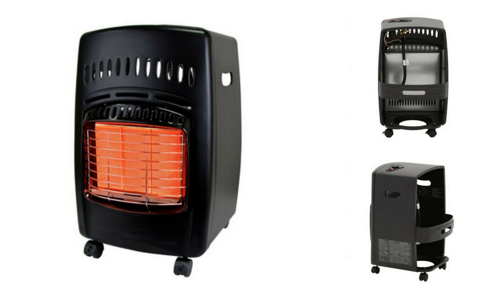 Dyna glo propane natural gas portable radiant space heater for Best propane heating systems