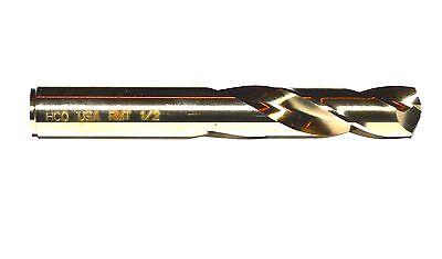 Stubby Length Cobalt Drill Bit 14 Diameter 135 Split Point Usa Rmt 95001754