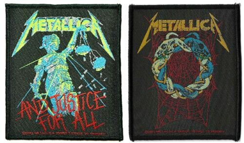 Metallica .and Justice for All + Tangled Web Patch Lot of 2 Patches [UK Import]