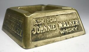 Johnny Walker Advertising Ash Tray