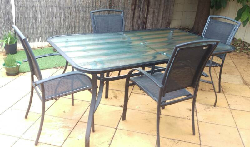 outdoor table and chairs. Outdoor Table \u0026 Chairs | Dining Furniture Gumtree Australia Port Adelaide Area - Klemzig 1181629709 And U