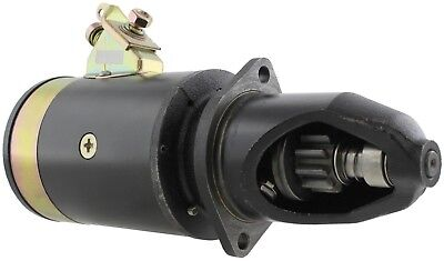 New Usa Built Starter John Deere Combine 45 6v 10 Tooth Ty6633 At16882 Ty1453