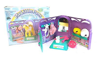 My Little Pony G1 vintage – UK Grooming Parlour with box & Accessories