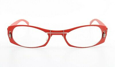 MARKUS T Red Brille S 0901 K Patented Designer Eyeglasses Frame Luxury Woman NEW