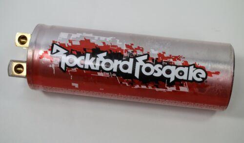 Rockford Fosgate Punch Performance Series 1 Farad Capacitor - Tested - NICE!