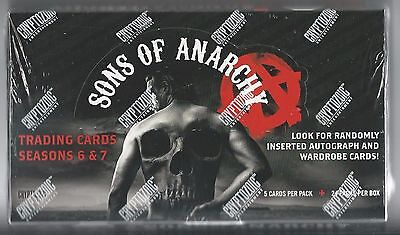 Factory Sealed Hobby Box Of Sons Of Anarchy Seasons 6   7   From Cryptozoic