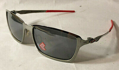 Oakley Men Sunglasses:  Ferrari Tincan - Black chrome - Black Iridium Polarized