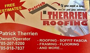 Need a roof? We've got you covered!