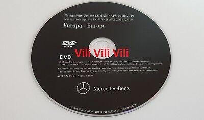 2019 Mercedes-Benz DVD Comand Aps Europa NTG1 W211 E-Klasse A2118270901 NEUE