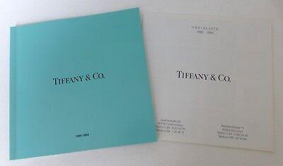 Tiffany & Co. 1993-1994, Katalog mit Preisliste, 80 S.