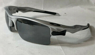 Oakley Sunglasses:  Fast Jacket XL - Silver - Black Iridium Polarized