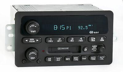 Chevy Impala Malibu Monte Carlo 2000-2005 Radio AM FM Cassette Player - 09394139