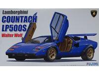 Lamborghini Huracán LP 610-4 Huracan 1:24 Model Kit Bausatz Aoshima 013762